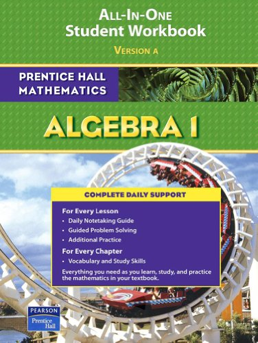 9780131657182: PRENTICE HALL MATH ALGEBRA 1 STUDENT WORKBOOK 2007 (Prentice Hall Mathematics)