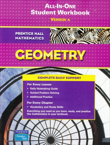 9780131657199: All-in-one Student Workbook : Version A (Prentice Hall Mathematics, Geometry)