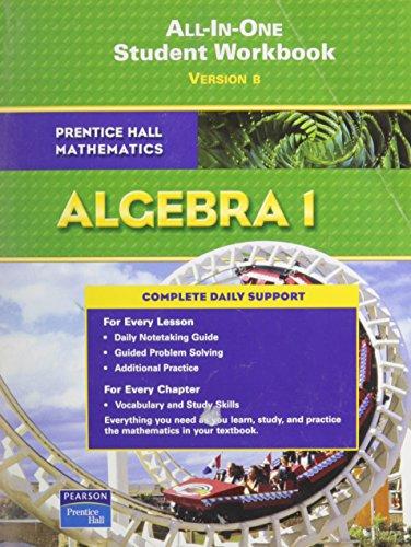 9780131657229: Prentice Hall Math Algebra 1 Student Workbook (Adapted Version) 2007