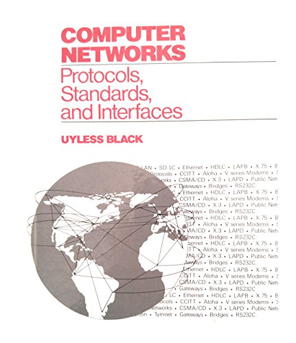 9780131657540: Computer Networks: Protocols, Standards and Interfaces
