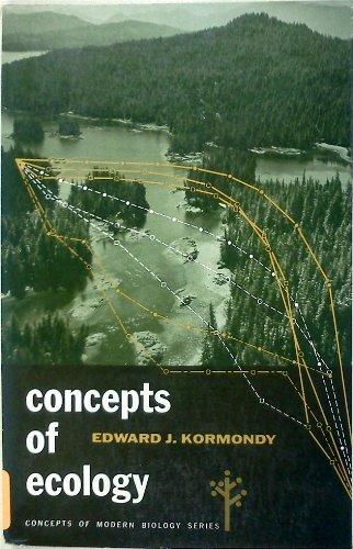 Concepts of Ecology (Concepts of Modern Biology Series): Kormondy, Edward.J.
