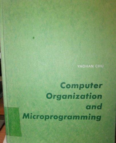 9780131660250: Computer Organization and Microprogramming