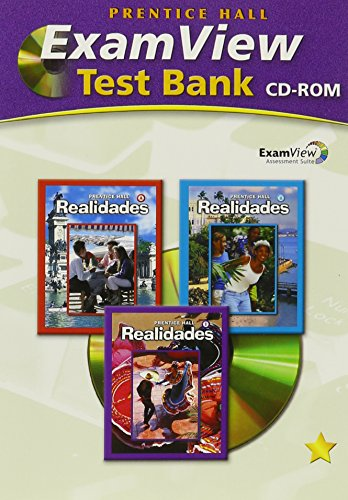 9780131660465: Prentice Hall Realidades (A/b-1) Examview Test Bank CD-ROM