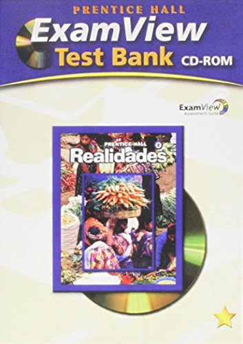 9780131660472: PRENTICE HALL SPANISH REALIDADES EXAMVIEW TESTBANK CD LEVEL 2 2008C