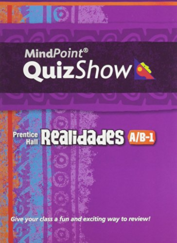 9780131660496: PRENTICE HALL SPANISH REALIDADES MINDPOINT QUIZ SHOW CD LEVEL A/B-1 2008C
