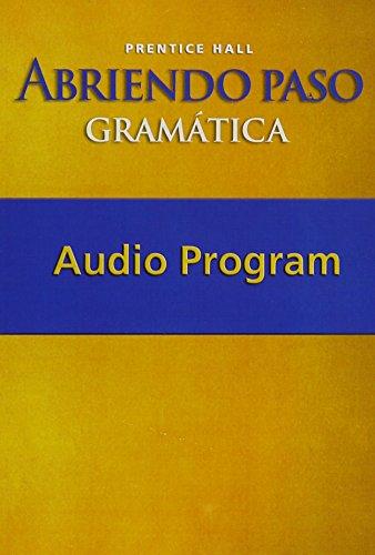 9780131661356: ABRIENDO PASO: GRAMATICA AUDIO CD'S 2007C