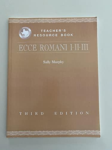 9780131661523: Ecce Romani I-II-III (1-2-3) Teacher's Resource Book (Florida)