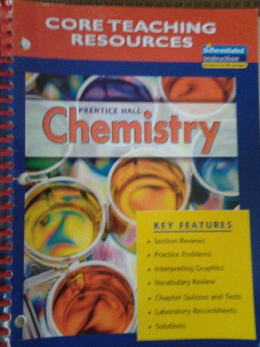 9780131662339: CORE Teaching Resources Prentice Hall Chemistry