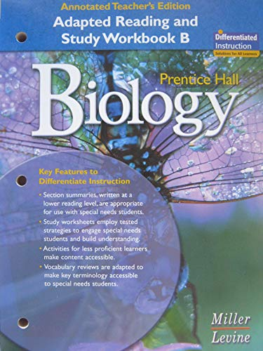 9780131662605: Prentice Hall Biology: Adapted Reading and Study Workbook B, Annotated Teacher's Edition