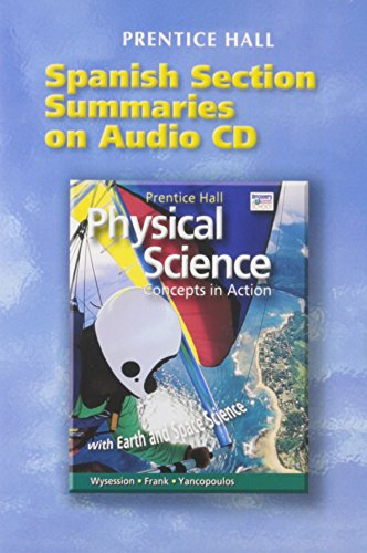 9780131662636: PRENTICE HALL HIGH SCHOOL PHYSICAL SCIENCE SPANISH STUDY GUIDE ON AUDIO CD 2004C