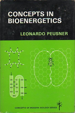 9780131662728: Concepts in Bioenergetics (Concepts of modern biology series)