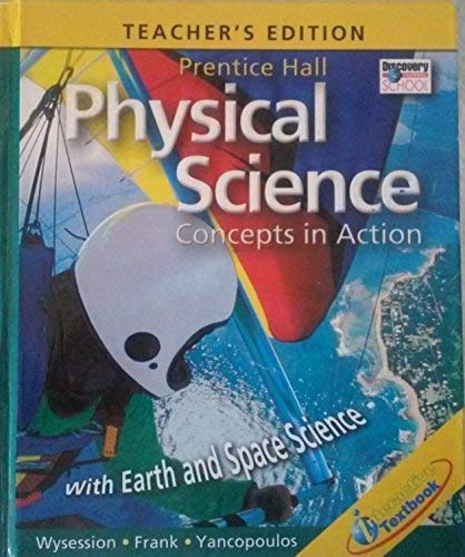 9780131663169: Physical Science Teacher's Edition with Earth and Space Science