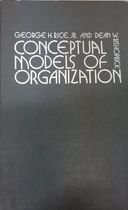 9780131663305: Conceptual Models of Organization
