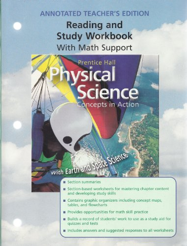 Reading and Study Workbook with Math Support [Annotated Teacher's Edition] for Prentice Hall&#...