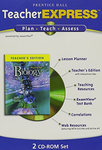 9780131664333: Prentice Hall Miller Levine Biology Teacher Express 2006c