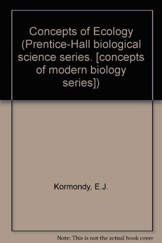 9780131664708: Concepts of Ecology (Prentice-Hall biological science series)