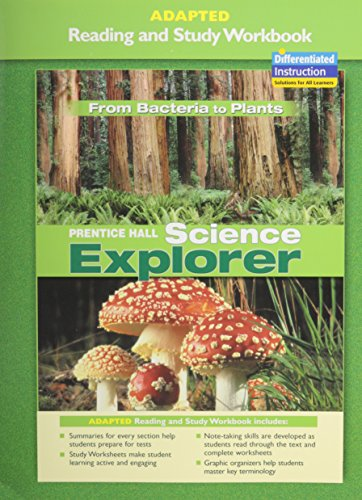 9780131665392: Prentice Hall Science Explorer: From Bacteria to Plants (Guided Reading and Study Workbook)
