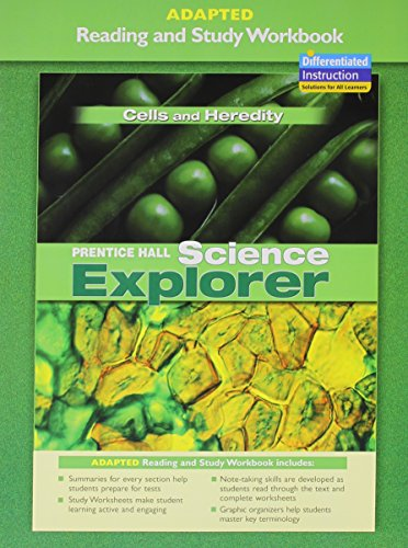 9780131665415: PRENTICE HALL SCIENCE EXPLORER CELLS AND HEREDITY ADAPTED READING AND STUDY WORKBOOK 2005C