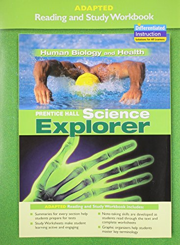 9780131665422: PRENTICE HALL SCIENCE EXPLORER HUMAN BIOLOGY AND HEALTH ADAPTED READING AND STUDY WORKBOOK 2005C