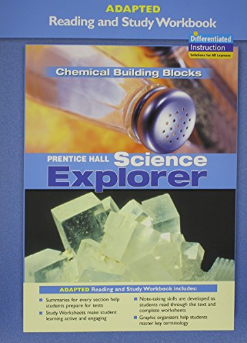 9780131665507: PRENTICE HALL SCIENCE EXPLORER CHEMICAL BUILDING BLOCKS ADAPTED READING AND STUDY WORKBOOK