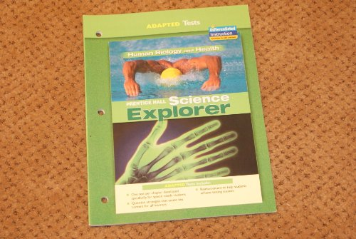 9780131665774: Science Explorer- Human Biology and Health- Adapted Tests