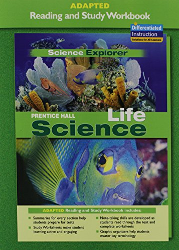 9780131665941: PRENTICE HALL SCIENCE EXPLORER LIFE SCIENCE ADAPTED READING AND STUDY   WORKBOOK 2005C