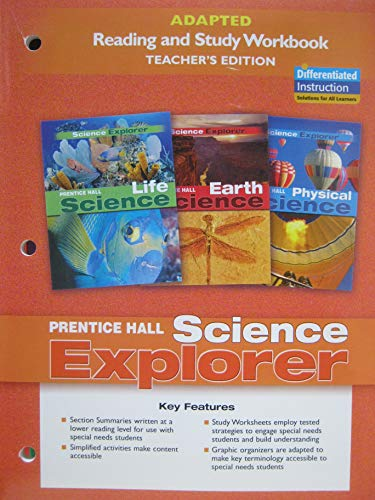 9780131665965: Prentice Hall Science Explorer: Adapted Reading and Study Workbook [Teacher's Edition]