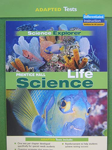 9780131665972: Adapted Tests Prentice Hall Life Science (Science Explorer)