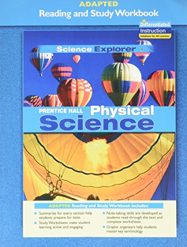 9780131665989: PRENTICE HALL SCIENCE EXPLORER PHYSICAL SCIENCE ADAPTED READING AND     STUDY WORKBOOK