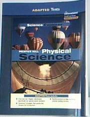 9780131666009: Adapted Tests (Prentice Hall Physical Science)