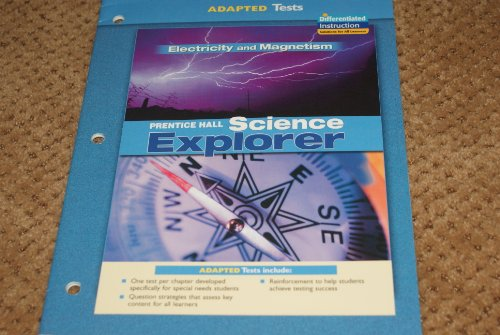 9780131666016: Science Explorer Adapted Test Electricity and Magnetism