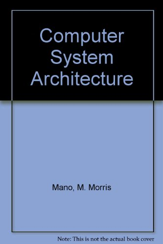 9780131666375: Computer System Architecture
