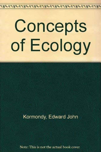 9780131667020: Concepts of Ecology
