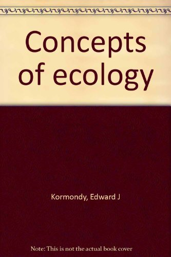 9780131667105: Concepts of ecology
