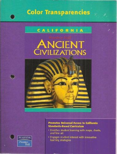 9780131667891: Prentice Hall: Ancient Civilizations Color Transparencies California Edition