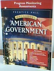 9780131668201: Magruder's American Government (Progress Monitoring Assessments)