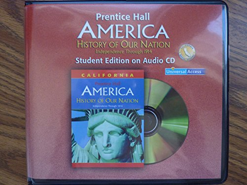 9780131668393: America: History of Our Nation - Independence Through 1914 - Audio Cds