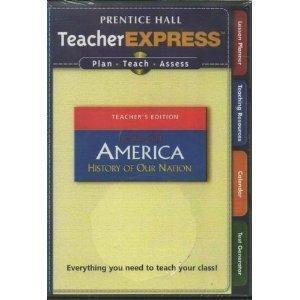 9780131668584: TeacherEXPRESS America: History of Our Nation Beginnings Through 1877 (CD-Rom) (Teacher Express Less