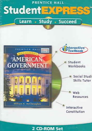 PRENTICE HALL MAGRUDER'S AMERICAN GOVERNMENT STUDENT EXPRES: HALL, PRENTICE