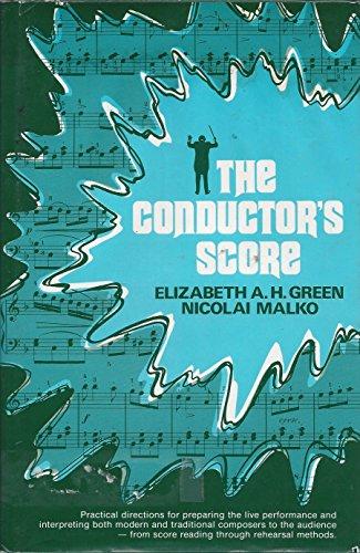 Conductor's Score: Green, Elizabeth A.H.; Malko, Nicolai