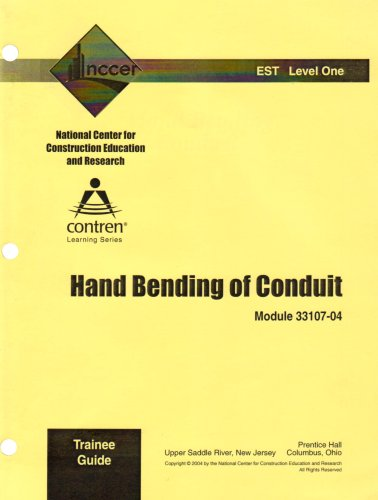 9780131673939: 33107-04 Hand Bending of Conduit, TG