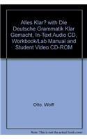 9780131675155: Alles klar? with Die deutsche Grammatik klar gemacht, In-text audio CD, Workbook/Lab Manual and Student Video CD-ROM (2nd Edition)