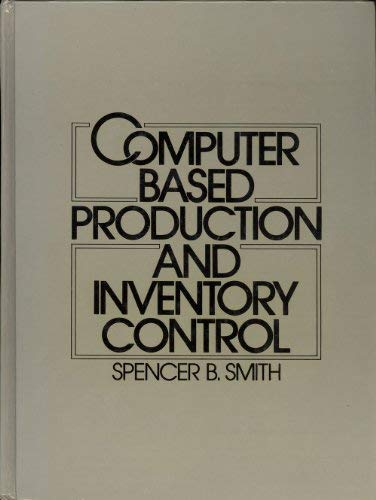 9780131675780: Computer-Based Production and Inventory Control
