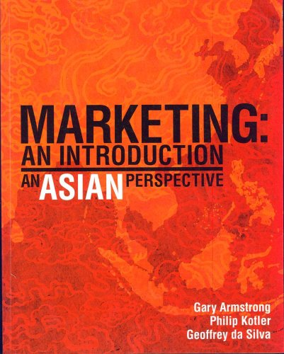 9780131676619: Marketing, an Asian Perspective: An Introduction