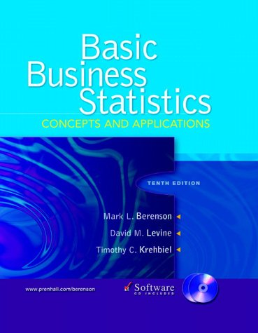 9780131678316: Basic Business Statistics: Concepts and Applications and CD package (10th Edition)