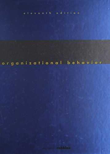 9780131683570: Organizational Behavior & Self Assessmt Library 3.0