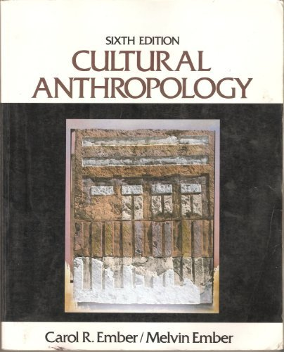 9780131684102: Cultural Anthropology