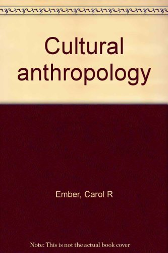 9780131684287: Cultural anthropology