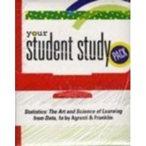 9780131687134: Student Study Pack for Statistics: The Art and Science of Learning from Data