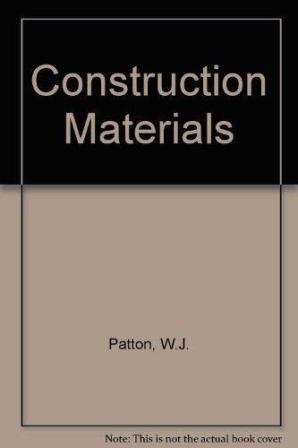 9780131687240: Construction Materials
